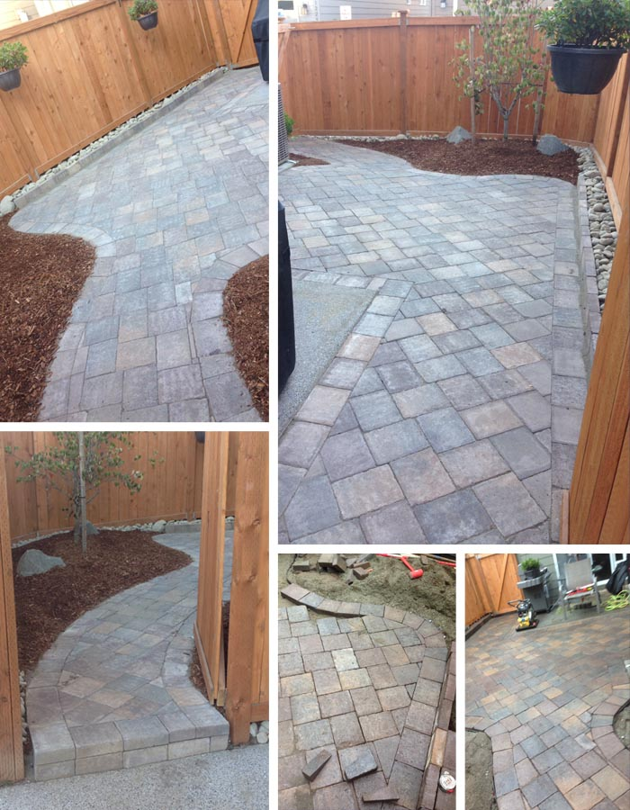 patio installation gig harbor