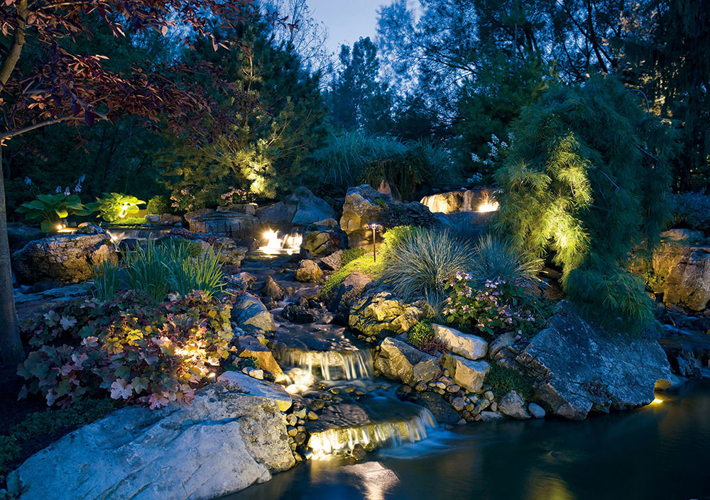 yard landscape lights