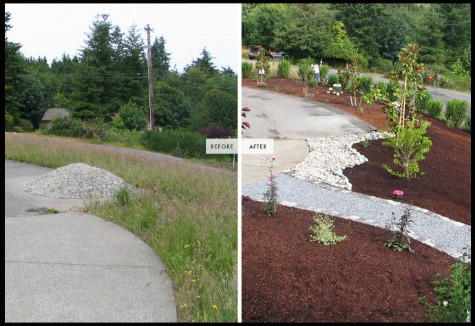 landscape services clean-up gig harbor