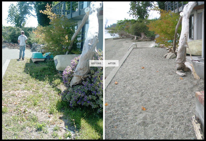 landscape contractor cleanup services
