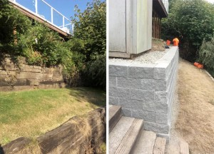 retaining wall gig harbor