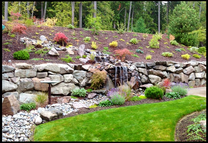 yard water features services